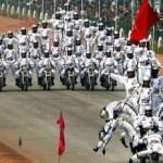 インドの軍事パレード