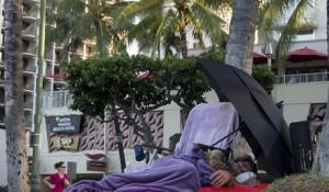 ハワイホームレス1