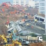 中国土砂崩れ