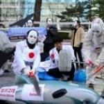 韓国のクジラデモ