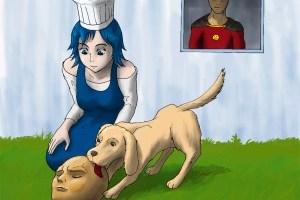チーズ、古い顔よ! | Tもやし [pixiv] http://www.pixiv.net/member_illust.php?mode=medium&illust_id=46363193