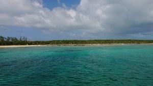 バハマの海