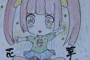 二次元の少女