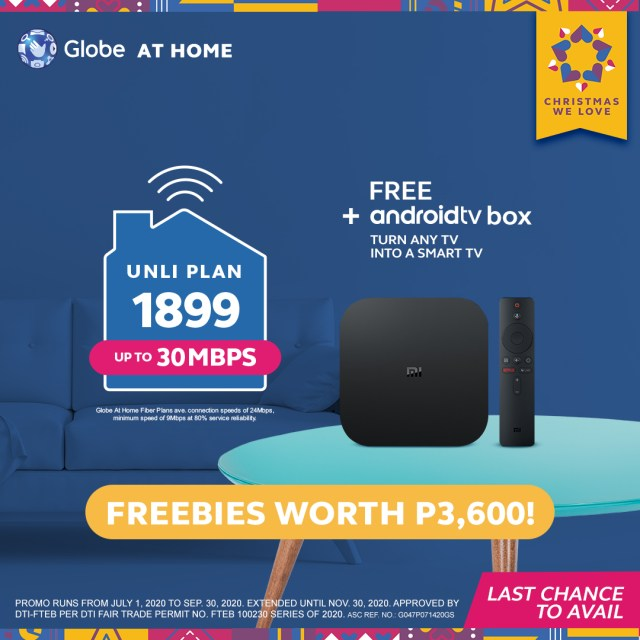 Get Fast, UNLI Internet with Free Devices With Globe At Home - MegaBites