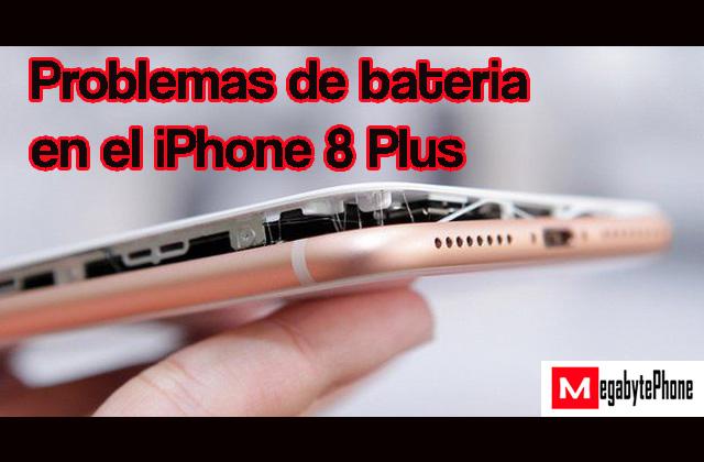 Problemas de batería en el iPhone 8 Plus