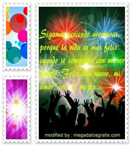 Mensajes de ano nuevo1,enviar lindos pensamientos de año nuevo para tus amigos