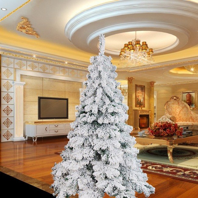 Luxury 1 8m 6ft Flocking Christmas Tree