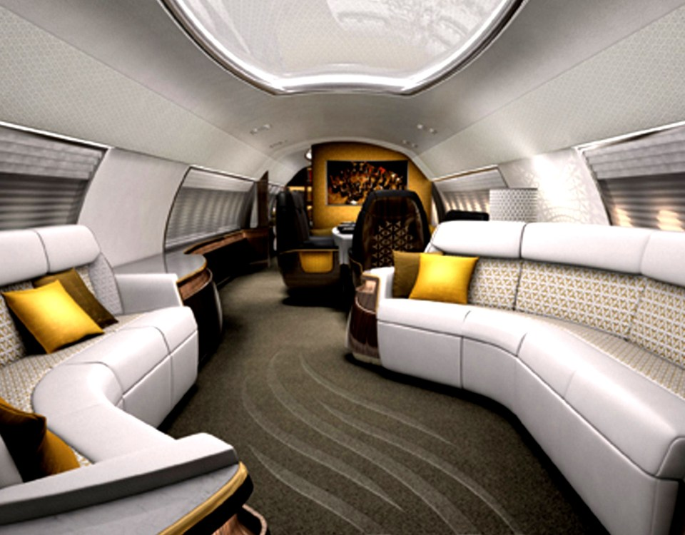 Business Jet Interiors