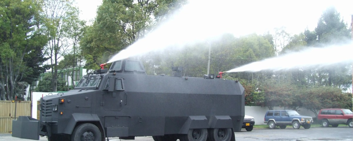 Armored Riot Control Vehicle