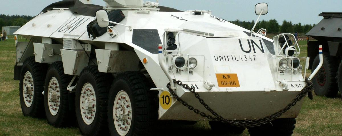 UN Peacekeeping vehicles
