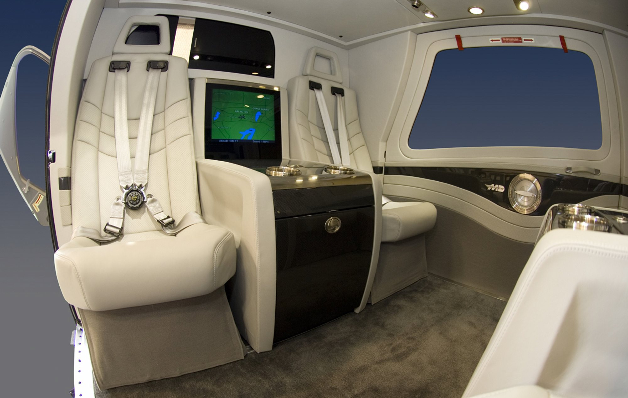 Don Wood Athens >> Helicopter Interiors – MEGA