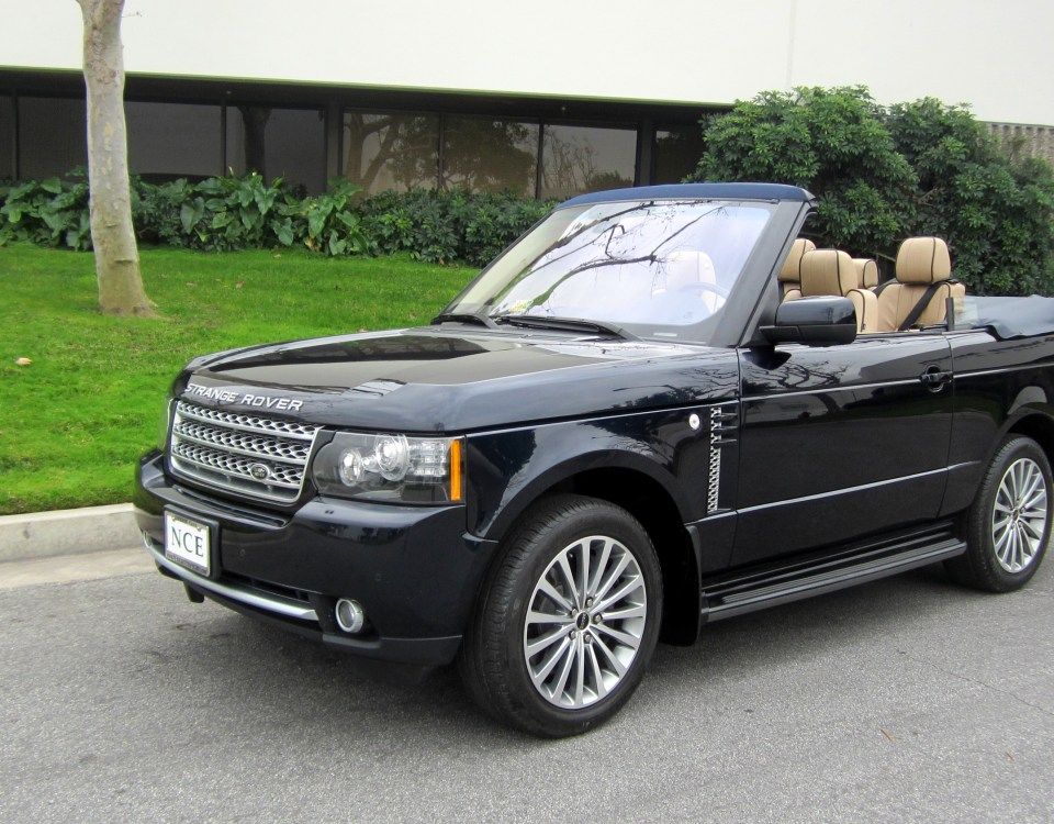 2 door Range Rover Convertible