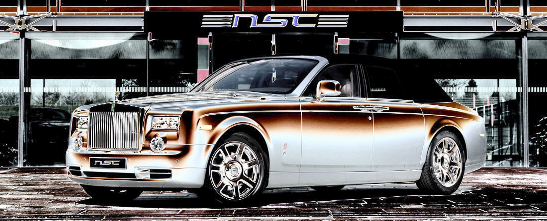 Rolls Royce Ghost Convertible Mega