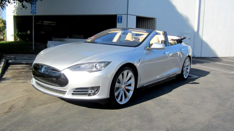 Tesla Model S Convertible 3