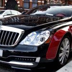 maybach coupe red 3