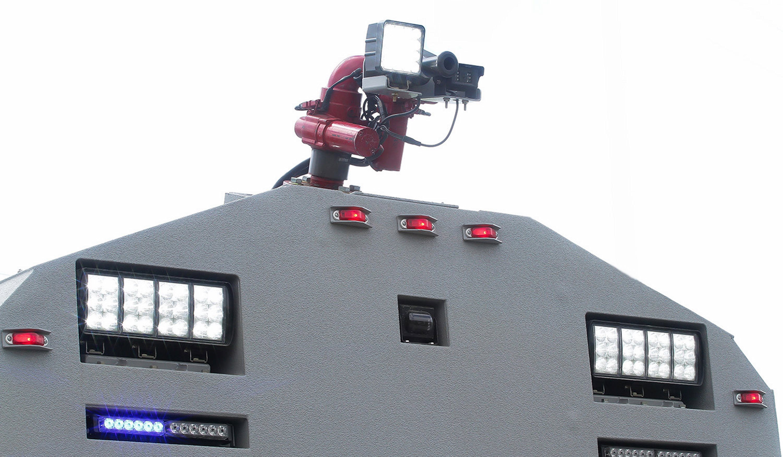 Vehicle Strobe Lights >> Water Cannon Vehicles – MEGA