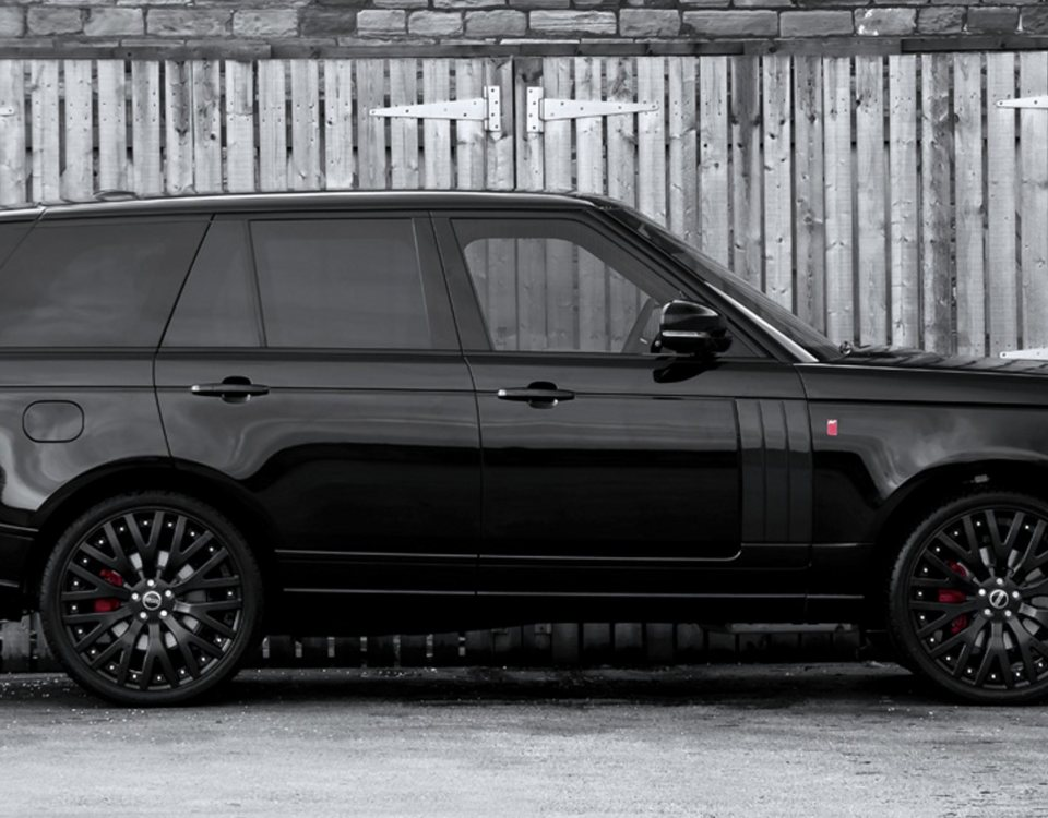 Armored Range Rover