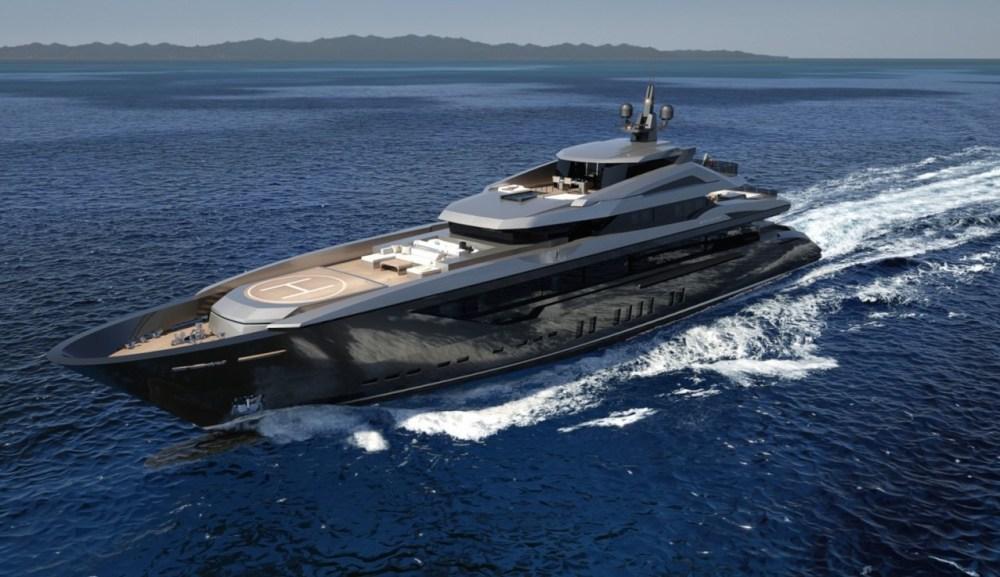 luxury yachts (Mondomarine's M60 yacht)
