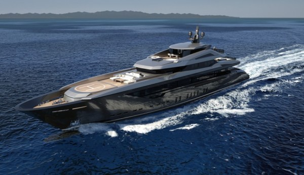 Mondomarine's M60 yacht