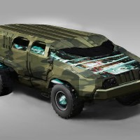 Military Electric Vehicle 4X4 1