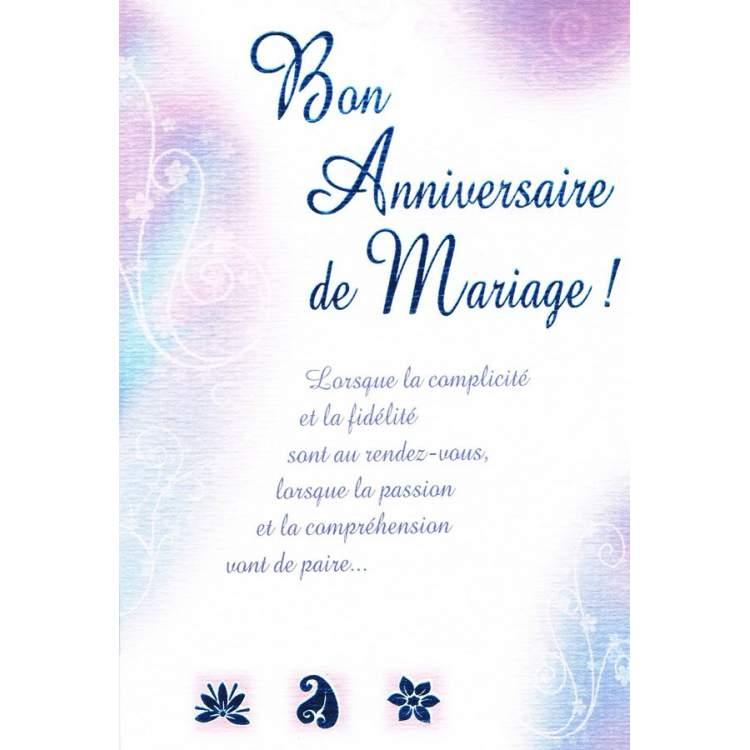 Carte Bon Anniversaire De Mariage Mga Fte