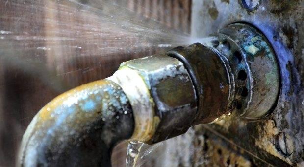 Como localizar vazamento de água