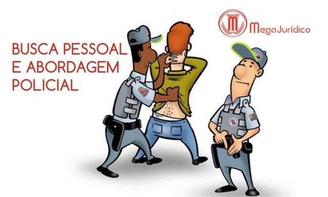 busca pessoal abordagem policial