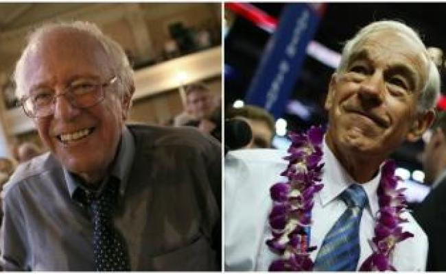 Bernie Sanders Is Not The Left S Ron Paul Megalextoria