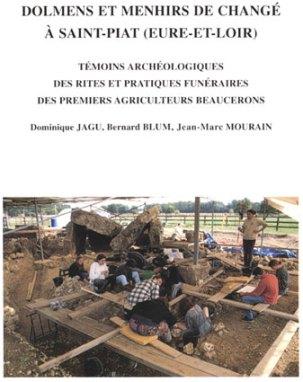 Dolmens et menhir de Changé - D. Jagu, B. Blum, J.-M. Mourain