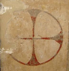 18 Alatri - Croce patente nella chiesa S Francesco