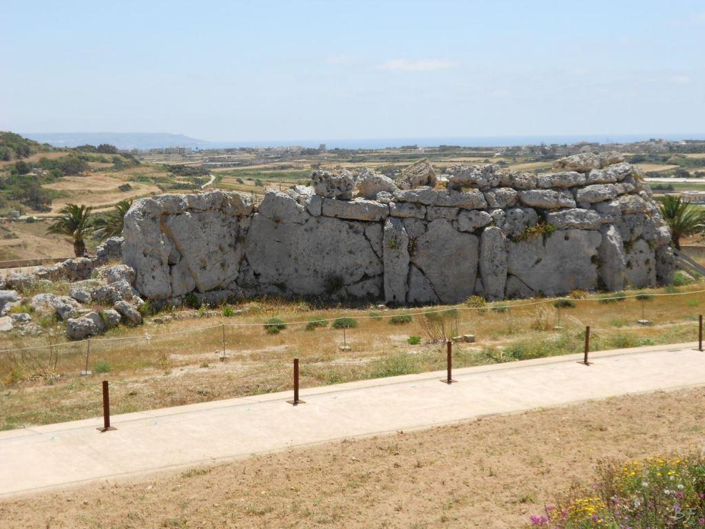 Ggantija Tempio Megalitico Gozo Malta 7