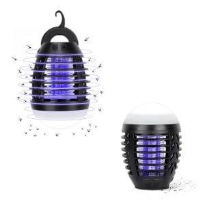 Moustikiller Camping : Lampe portable anti-moustique pour voyageurs et campeurs