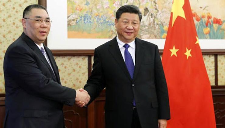 Xi Jinping hears activity report presented by Hong Kong SAR chief executive