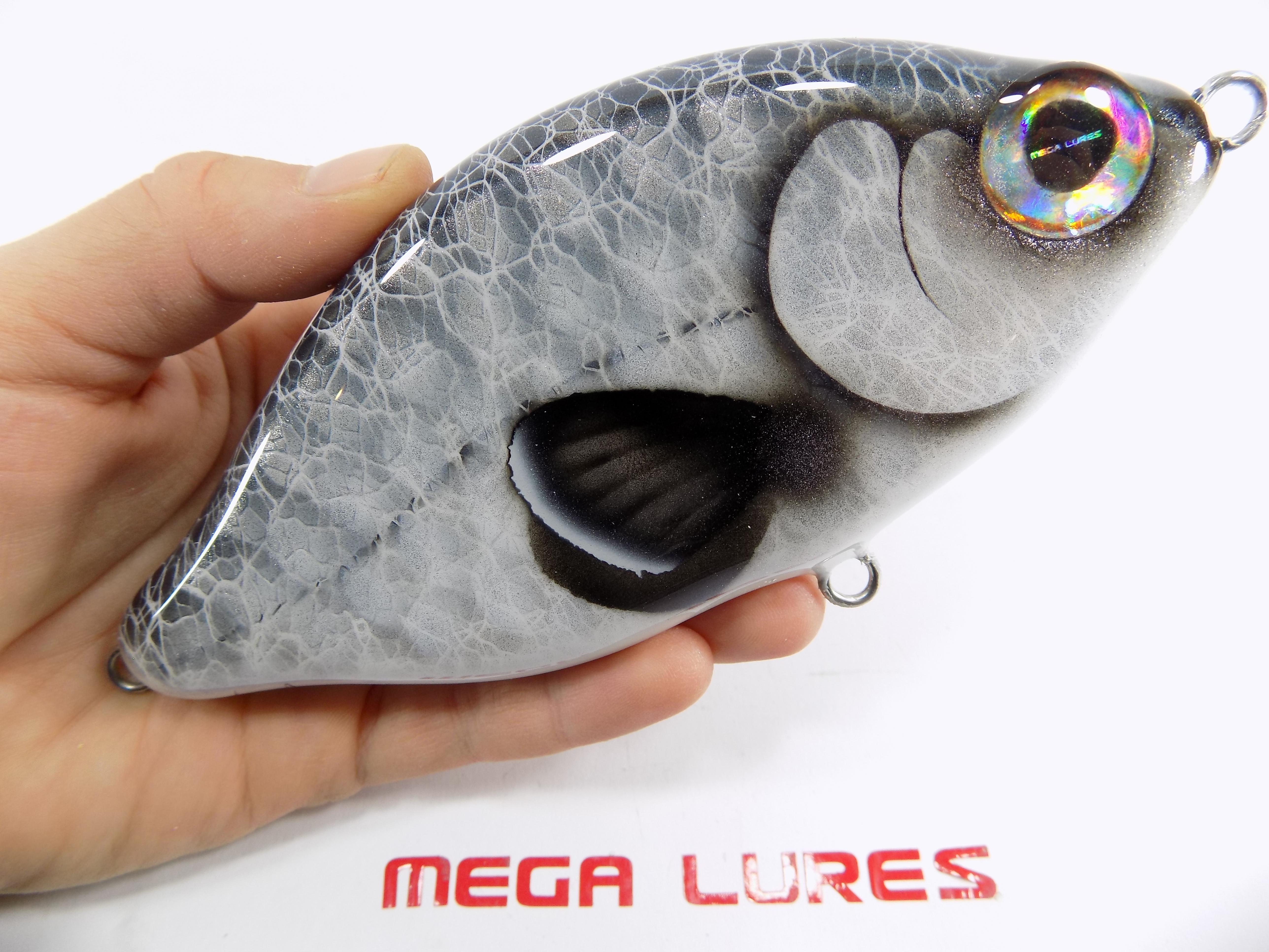 FREE Sticker Jerkbait  MegaLures Handmade Freshwater Fishing Musky