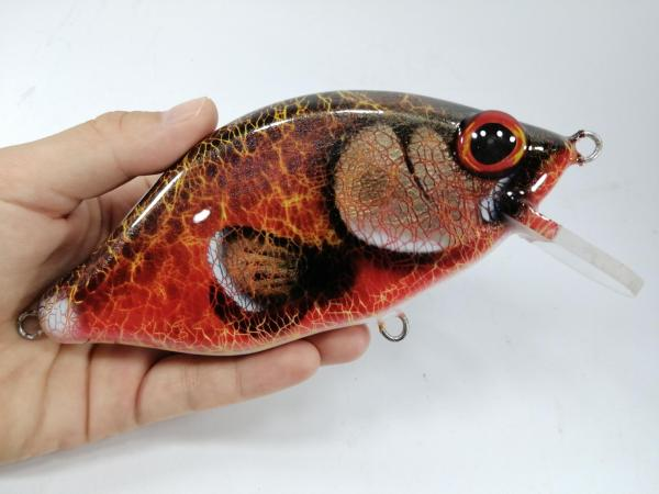 megalures-MiniCrank Salmon Musky Lures