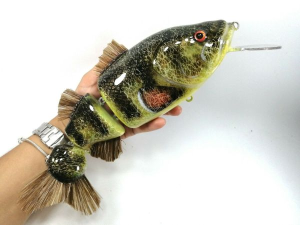 megalures-Fatboy Perch Musky Lures