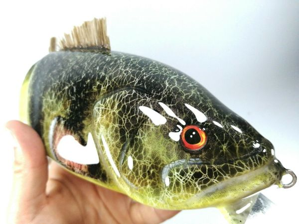 Fatboy Perch Musky Lures