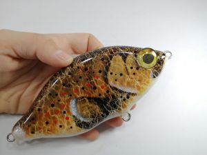 Custom Lures Jerkbait Brown Trout 2