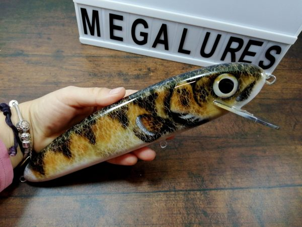 Walleye, GS 10, Mega Lures, Musky Lures, Fishing, Custom Lures