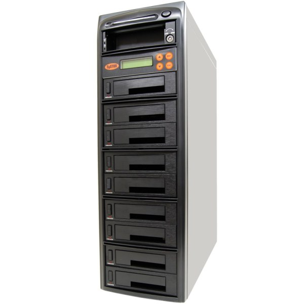 Systor 1 9 Sata Ide Combo Hard Disk Drive Hdd Ssd Duplicator Sanitizer Tower