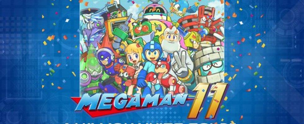 Mega Man 11 e Mega Man X Legacy Collection 1 & 2 ultrapassam 1 milhão de unidades vendidas
