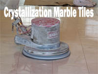 Crystallization Marble Tiles