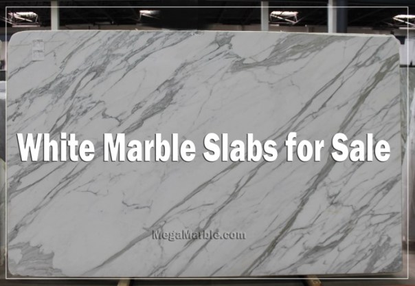 White Marble Slabs for Sale