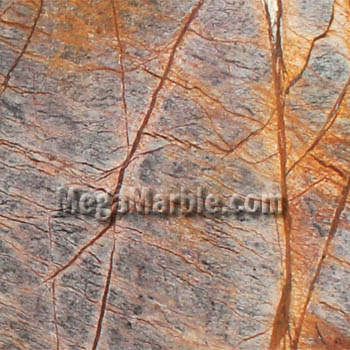 Rainforest Brown Natural Stone Marble