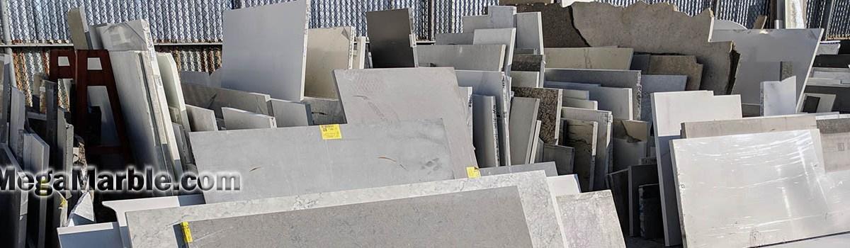 Granite marble & quartz countertop remnants
