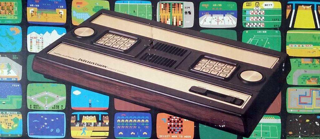 Mattel Intellivision console on original box