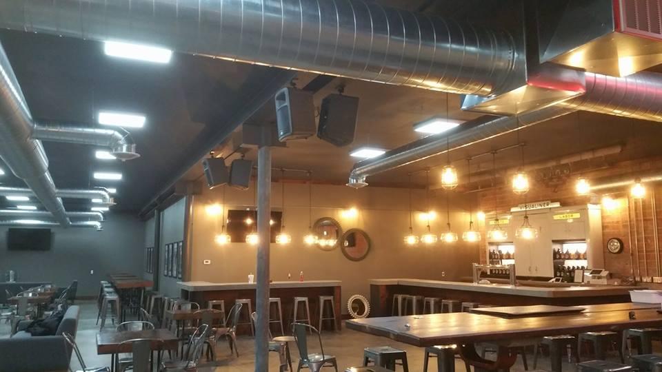 Parts & Labor Brewery Sound Installation