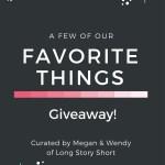 Favorite Things Giveaway!