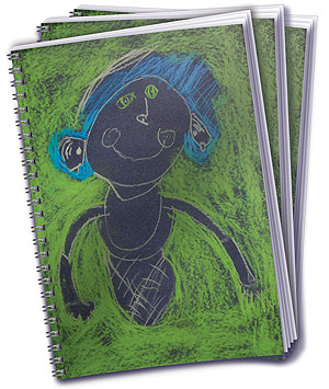Custom Cover Notebook - Megan & Wendy Gift Guide 2015
