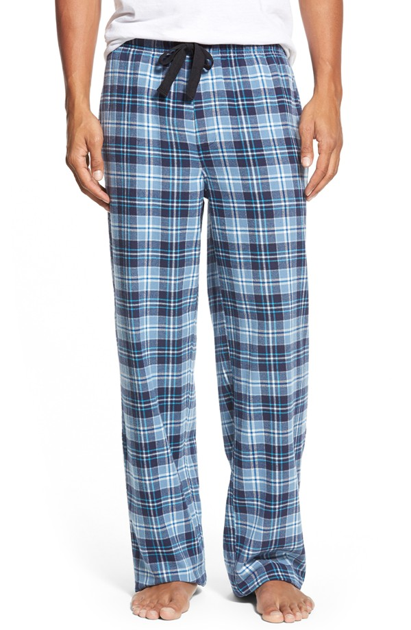 Nordstrom Flannel Lounge Pants - Megan & Wendy Gift Guide 2015